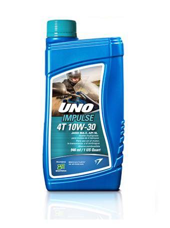 UNO IMPULSE 4T 10W-30 JASO MA-2, API SL