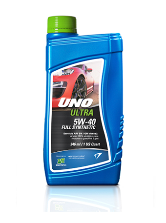UNO ULTRA FULL SYNTHETIC 5W-40 API SN / GM dexos2
