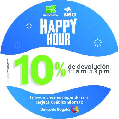 Happy hour TC Biomax – Banco de Bogotá